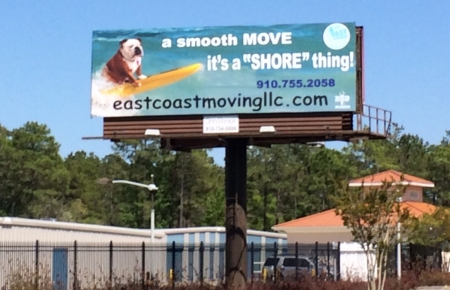 Our New Billboard!