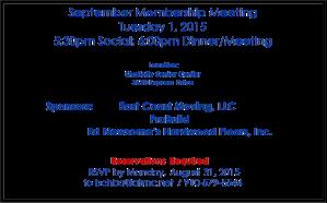 September 1st meeting BCHBA